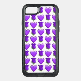 Purple Rose Emoji iPhone 7 Otterbox Case