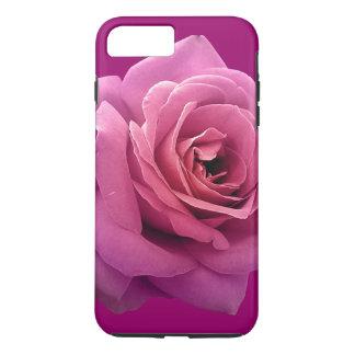 Purple Rose Feminine Girly Elegant Stylish Flower iPhone 8 Plus/7 Plus Case