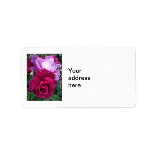 Purple Rose Label