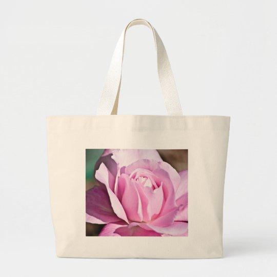 Purple Rose Large Tote Bag