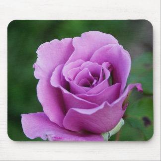 Purple Rose Mouse Pad