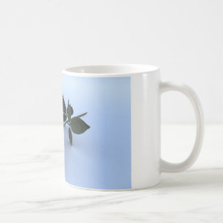 Purple Rose Classic White Coffee Mug