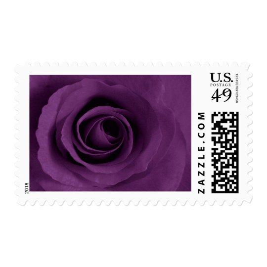 Purple Rose of Artsy Postage