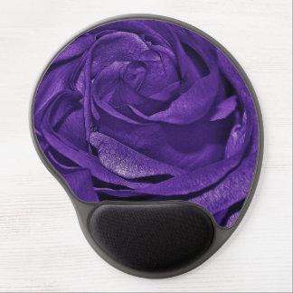Purple Rose of Fibro Gel Mouse Pads