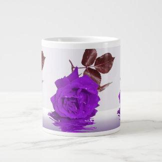 Purple Rose of Fibro Giant Coffee Mug