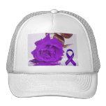 Purple Rose of Fibro Hat