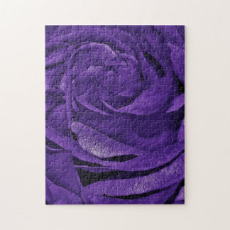 Purple Rose of Fibro Puzzles