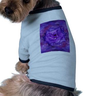 Purple Rose Passion Pet Tee Shirt