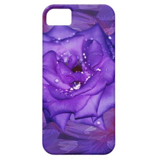 Purple Rose Passion iPhone 5 Cases