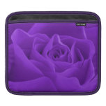 Purple Rose Petals Sleeve For iPads