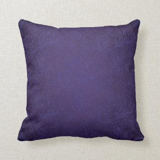 Purple Rose Pillow