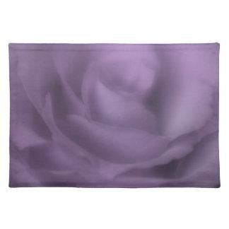 Purple Rose Placemats