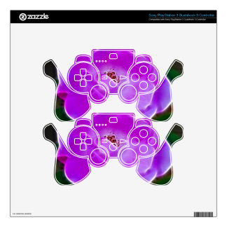Purple Rose PS3 Controller Skins