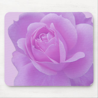 purple rose, romantic, love mouse pad