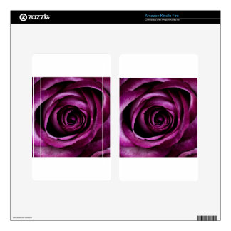 Purple Rose Skins For Kindle Fire