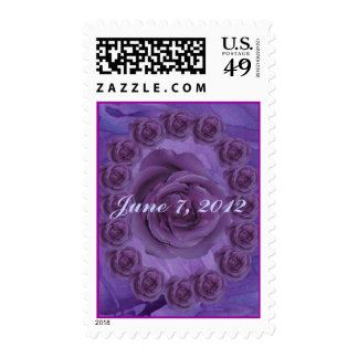 Purple Rose Stamps