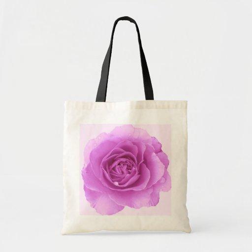 Purple Rose ToteBag Bag