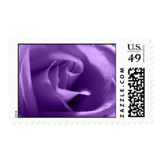 Purple Rose Wedding Postage