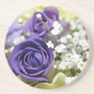 Purple Roses Coaster