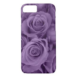 purple roses iPhone 7 case