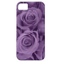 purple roses iPhone SE/5/5s case