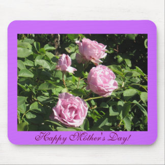 Purple Roses Perfect For Mother s Day Mouse Mat