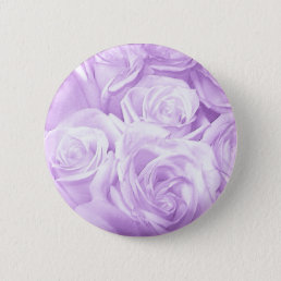 Purple Roses_ Pinback Button