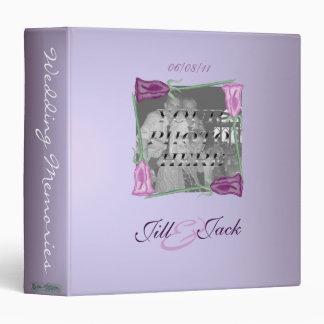 Purple Roses (Wedding Album) Binder