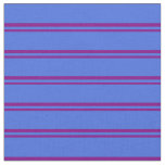 [ Thumbnail: Purple & Royal Blue Colored Pattern Fabric ]