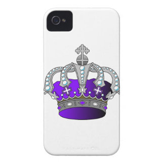 Purple Royal Crown Case-Mate iPhone 4 Case