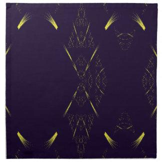 Purple Royal Elegance Digital Design American MoJo Napkin