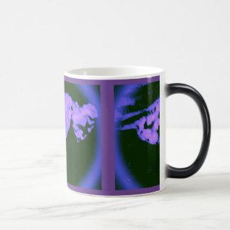 Purple Royal Hearts Mug