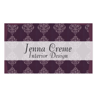 Purple Royale Double-Sided Standard Business Cards (Pack Of 100)