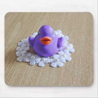 Purple Rubber Duck Mousepad