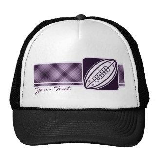 Purple Rugby Trucker Hat