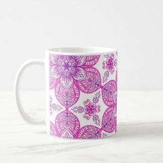 Purple rules coffee mug