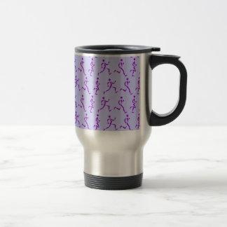 Purple Runners Travel Mug