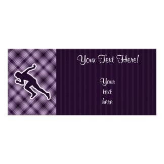 Purple Running Rack Cards