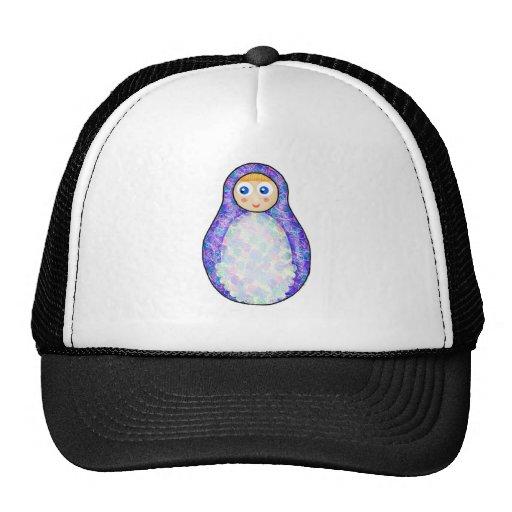 Purple Russian Doll Trucker Hat