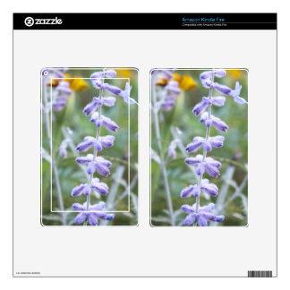 Purple Russian Sage -Pervoskia Decal For Kindle Fire