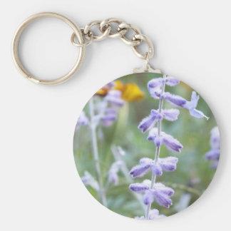 Purple Russian Sage -Pervoskia Keychain
