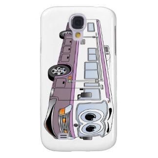 Purple RV Bus Cartoon Camper Galaxy S4 Case