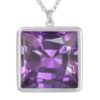 Purple Sapphire 1 Necklace