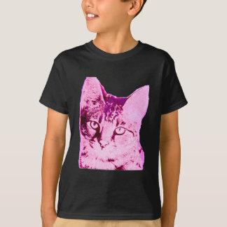 Purple Savannah Cat T-Shirt