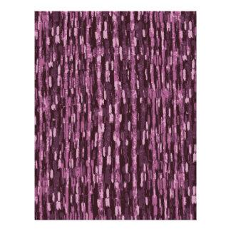 purple Scrapbook Paper Letterhead