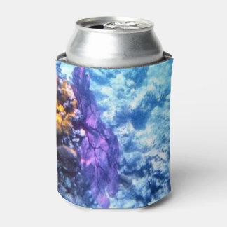 Purple Sea Fan Can Cooler