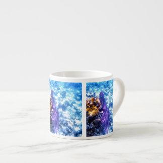 Purple Sea Fan Espresso Cup