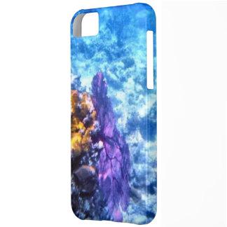 Purple Sea Fan iPhone 5C Case