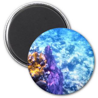 Purple Sea Fan Magnet