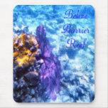 Purple Sea Fan Mousepad